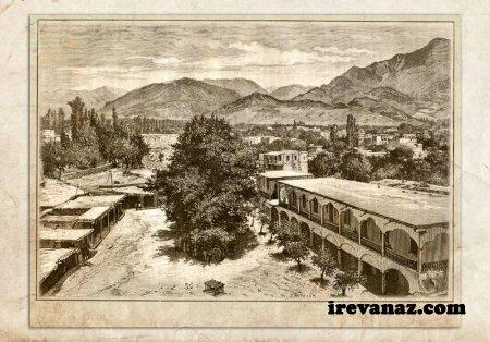 СТАРЫЙ ИРЕВАН: Дворец Сардара, резьба на дереве 1891г.